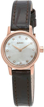 Rado Coupole Classic Mother of Pearl Dial Ladies Watch