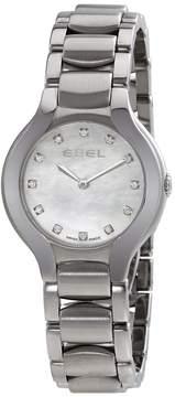 Ebel Beluga Mother of Pearl Diamond Dial Stainless Steel Ladies Watch