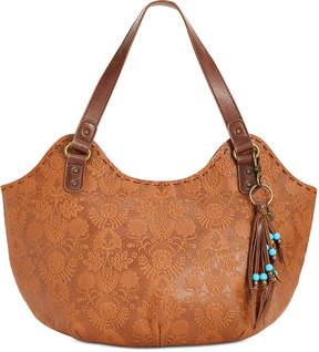 The Sak Indio Leather Extra-Large Satchel