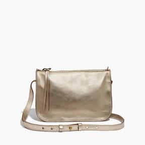 Madewell The Simple Crossbody Bag in Metallic