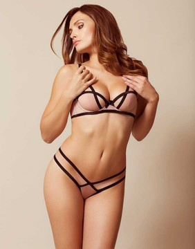 Agent Provocateur Joan Thong Nude And Black