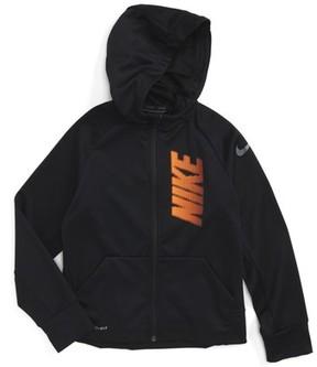 Nike Boy's Therma-Fit Logo Zip Hoodie