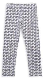 Vineyard Vines Toddler's, Little Girl's& Girl's Etched Whale Leggings