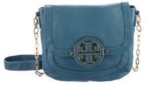 Tory Burch Amanda Flap Crossbody Bag - BLUE - STYLE
