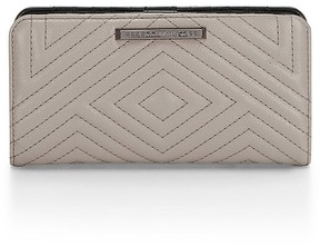 Rebecca Minkoff Geo Quilted Sophie Snap Wallet - NATURAL - STYLE