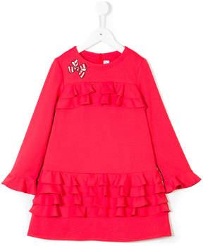 Simonetta frill dress