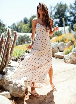 Merritt Charles - Canyon Dress Spring Blossom Print