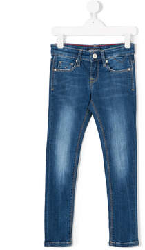 Tommy Hilfiger Junior bleach-effect skinny jeans