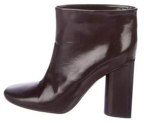 Rochas Leather Ankle Boots