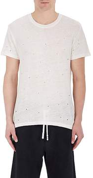 IRO Men's Distressed Linen T-Shirt