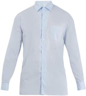Massimo Alba Point-collar cotton shirt