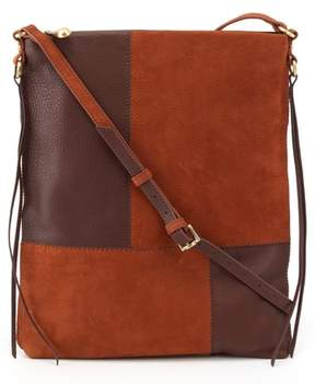 Hobo Fusion Patchwork Leather Crossbody Bag