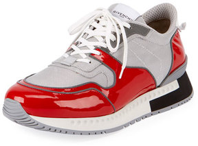 Givenchy Patent Leather Active Running Sneaker