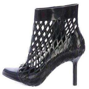 Melissa Rubber Cutout Ankle Boots