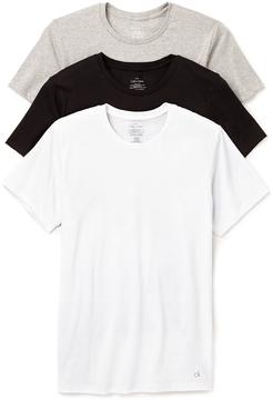Calvin Klein Underwear 3 Pack Cotton Classic Crew Neck T-Shirts