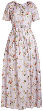 Brock Collection Dean Floral Printed Cotton Dress