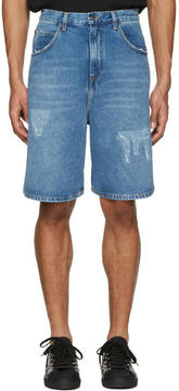 J.W.Anderson Blue Denim Shorts
