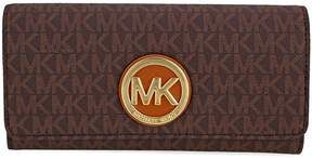 Michael Kors Fulton Carryall Wallet - Brown - ONE COLOR - STYLE