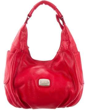 Jimmy Choo Grained Leather Hobo