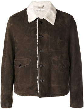 Golden Goose Deluxe Brand fitted biker jacket