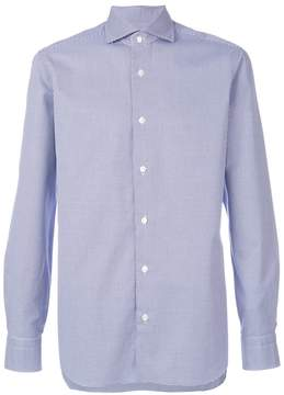 Barba classic fitted shirt