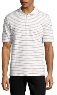 Selected Striped Cotton Polo