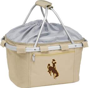 Picnic Time Metro Basket Wyoming Cowboys Print