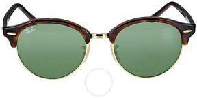 Ray-Ban Tortoise 4246 Clubround Round Sunglasses Lens 4246 990