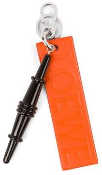 Loewe Sussex Chair Keyring Black/Orange