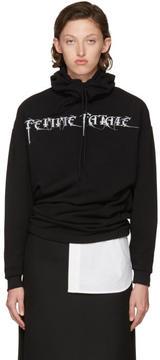 Balenciaga Black Femme Fatale Headscarf Hoodie