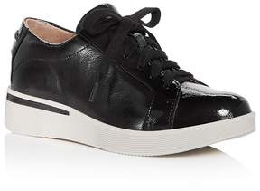 Gentle Souls Women's Haddie Patent Leather Lace Up Sneakers