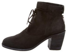 Ld Tuttle Suede Square-Toe Ankle Boots