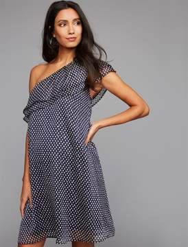 Collective Concepts One Shoulder Maternity Dress