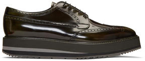 Prada Green Creeper Brogues