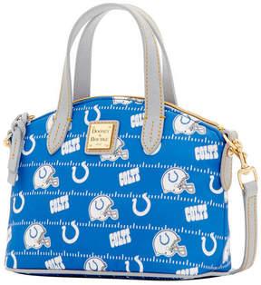 Dooney & Bourke Indianapolis Colts Nylon Mini Crossbody Satchel - BLUE - STYLE
