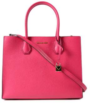 Michael Kors Mercer Large Leather Tote - Ultra Pink - 30F6GM9T3L-564 - PINK - STYLE