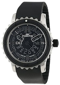 Fortis Big Black Black Dial Automatic Men's Watch