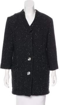 Theyskens' Theory Wool Bouclé Coat