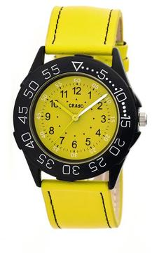Crayo Fun Collection CRACR2505 Unisex Watch with Leather Strap