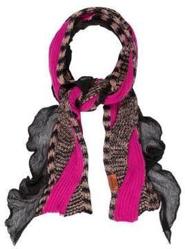 Missoni Lace Rib Knit Scarf