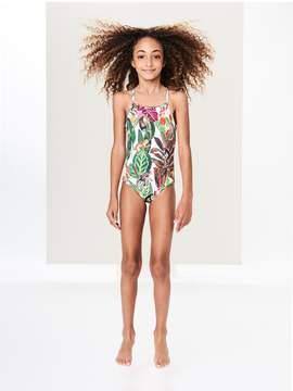 Oscar de la Renta Kids Kids | Jungle Monkeys One-Piece Swimsuit | 5 years