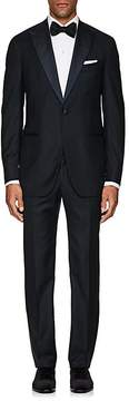 Isaia Men's Gregory Aquaspider Wool One-Button Tuxedo