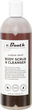 C. Booth Walnut Shell Body Scrub & Cleanser