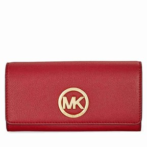 Michael Kors Fulton Carryall Wallet - Burnt Red - ONE COLOR - STYLE