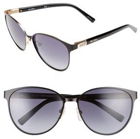 Max Mara Women's Diamov 59Mm Gradient Cat Eye Sunglasses - Matte Black