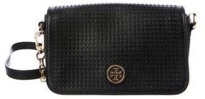 Tory Burch Robinson Perforated Crossbody - BLACK - STYLE