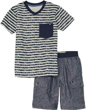 Lucky Brand Boys' 2Pc T-Shirt & Short Set