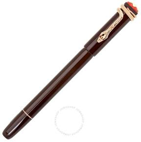 Montblanc Heritage Rouge and Noir Tropic Brown Fountain Pen