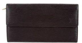 Louis Vuitton Epi Porte-Monnaie Wallet - BLACK - STYLE