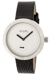 Simplify Men's The 3700 Quartz Watch.